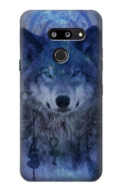 S3410 Wolf Dream Catcher Case For LG G8 ThinQ