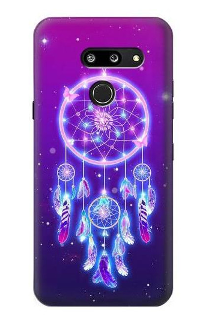 S3484 Cute Galaxy Dream Catcher Case For LG G8 ThinQ