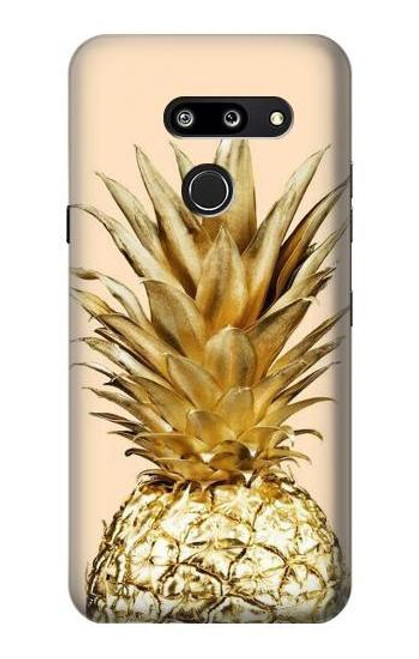 S3490 Gold Pineapple Case For LG G8 ThinQ