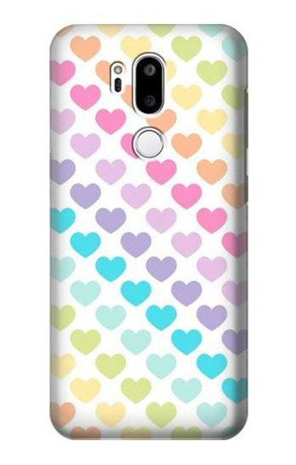 S3499 Colorful Heart Pattern Case For LG G7 ThinQ