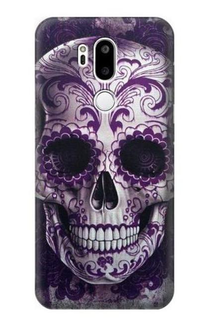 S3582 Purple Sugar Skull Case For LG G7 ThinQ
