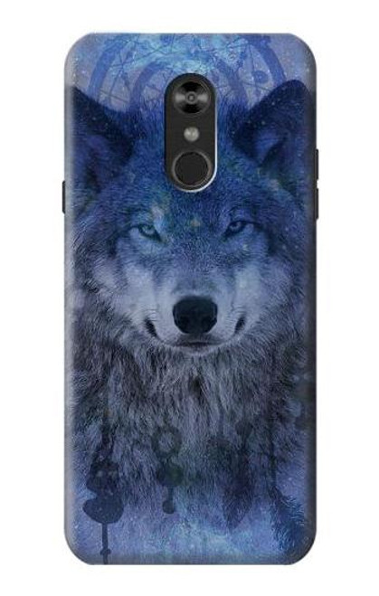 S3410 Wolf Dream Catcher Case For LG Q Stylo 4, LG Q Stylus