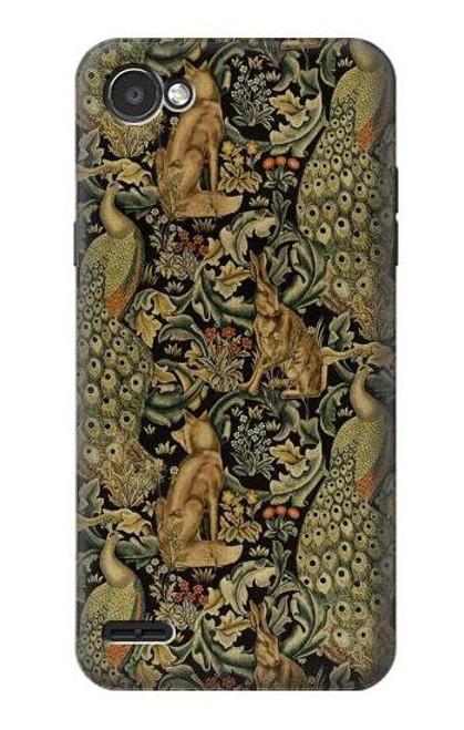 S3661 William Morris Forest Velvet Case For LG Q6