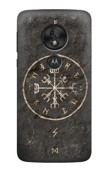 S3413 Norse Ancient Viking Symbol Case For Motorola Moto G7 Play