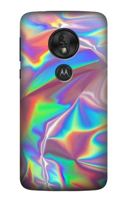 S3597 Holographic Photo Printed Case For Motorola Moto G7 Play