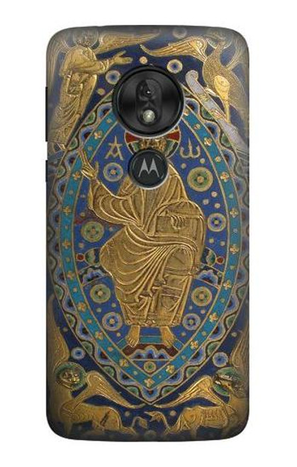 S3620 Book Cover Christ Majesty Case For Motorola Moto G7 Play