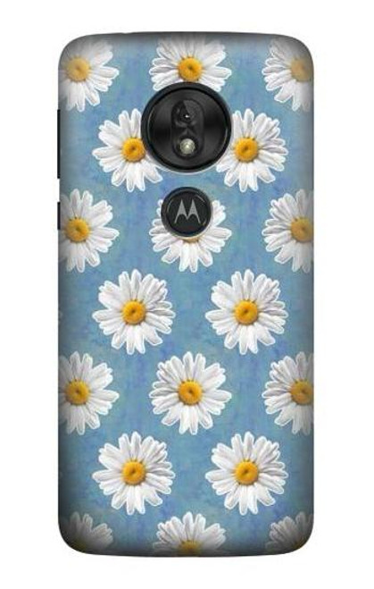 S3454 Floral Daisy Case For Motorola Moto G7 Power