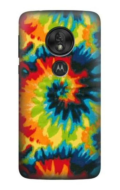 S3459 Tie Dye Case For Motorola Moto G7 Power