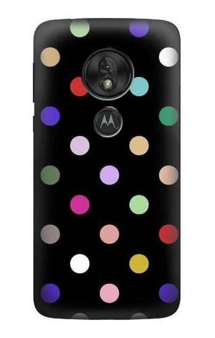 S3532 Colorful Polka Dot Case For Motorola Moto G7 Power
