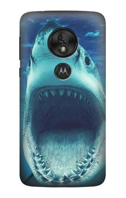 S3548 Tiger Shark Case For Motorola Moto G7 Power