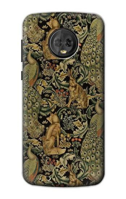 S3661 William Morris Forest Velvet Case For Motorola Moto G6