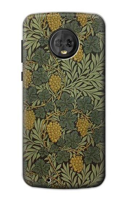 S3662 William Morris Vine Pattern Case For Motorola Moto G6