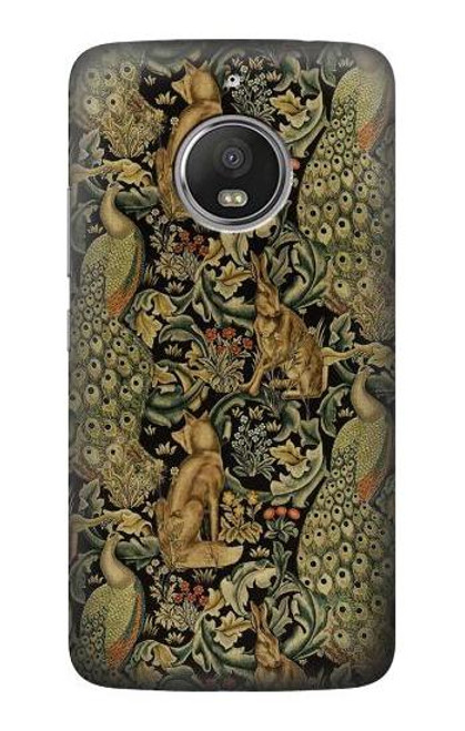 S3661 William Morris Forest Velvet Case For Motorola Moto G5S
