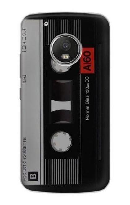S3516 Vintage Cassette Tape Case For Motorola Moto G5 Plus