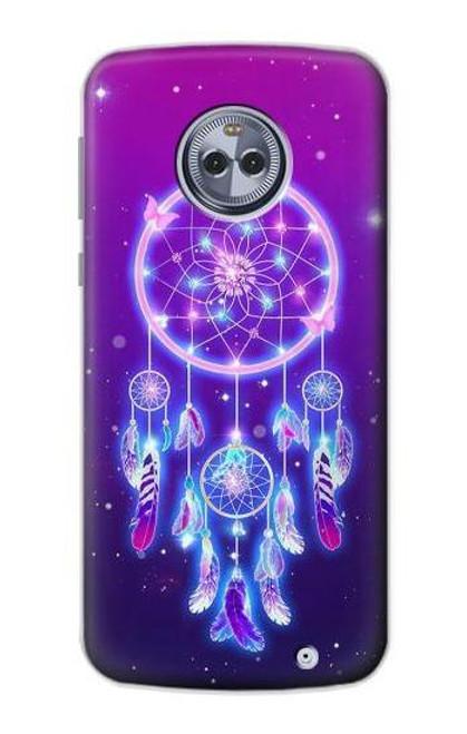 S3484 Cute Galaxy Dream Catcher Case For Motorola Moto X4