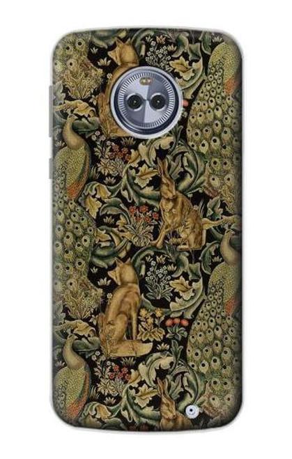 S3661 William Morris Forest Velvet Case For Motorola Moto X4