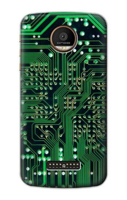 S3392 Electronics Board Circuit Graphic Case For Motorola Moto Z Force, Z Play
