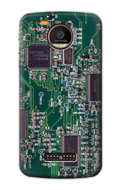 S3519 Electronics Circuit Board Graphic Case For Motorola Moto Z Force, Z Play
