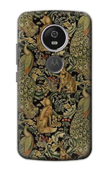 S3661 William Morris Forest Velvet Case For Motorola Moto E5 Plus