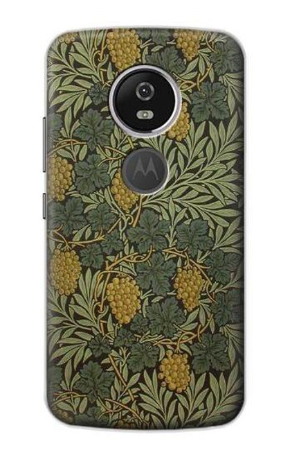 S3662 William Morris Vine Pattern Case For Motorola Moto E5 Plus