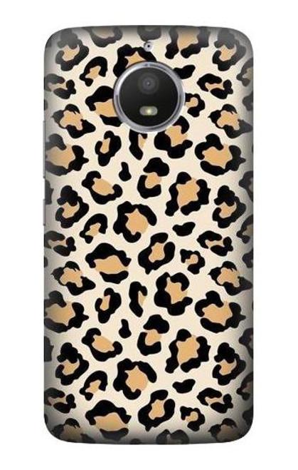 S3374 Fashionable Leopard Seamless Pattern Case For Motorola Moto E4 Plus