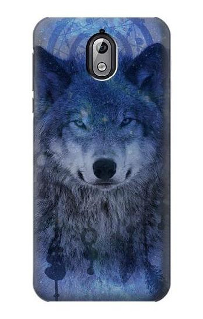 S3410 Wolf Dream Catcher Case For Nokia 3.1