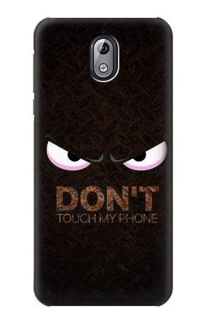 S3412 Do Not Touch My Phone Case For Nokia 3.1