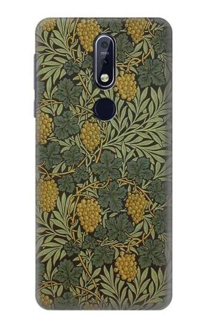 S3662 William Morris Vine Pattern Case For Nokia 7.1