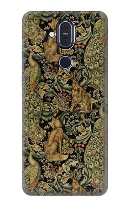 S3661 William Morris Forest Velvet Case For Nokia 8.1, Nokia X7