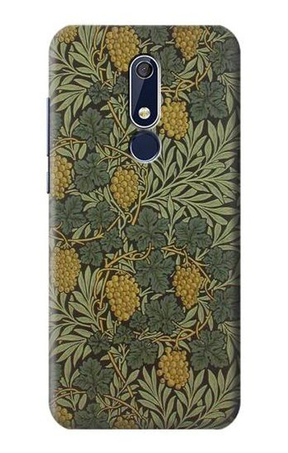 S3662 William Morris Vine Pattern Case For Nokia 5.1, Nokia 5 2018