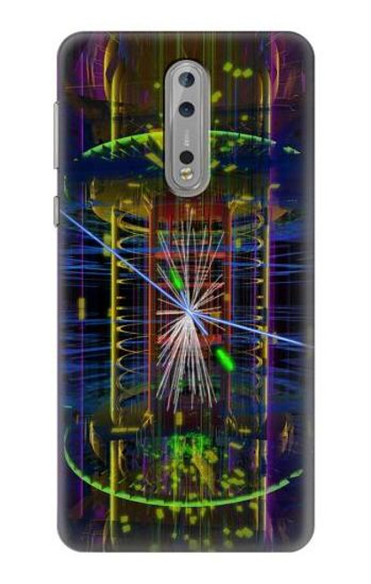 S3545 Quantum Particle Collision Case For Nokia 8
