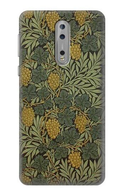 S3662 William Morris Vine Pattern Case For Nokia 8