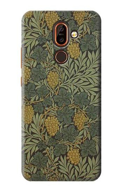 S3662 William Morris Vine Pattern Case For Nokia 7 plus