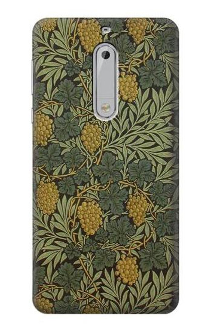 S3662 William Morris Vine Pattern Case For Nokia 5
