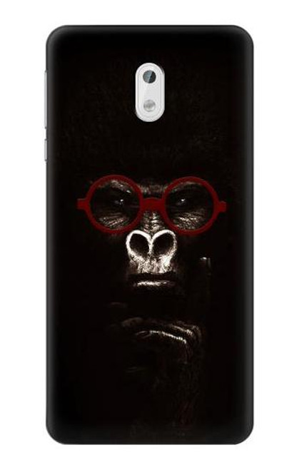 S3529 Thinking Gorilla Case For Nokia 3