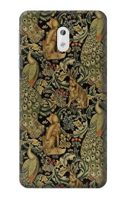 S3661 William Morris Forest Velvet Case For Nokia 3