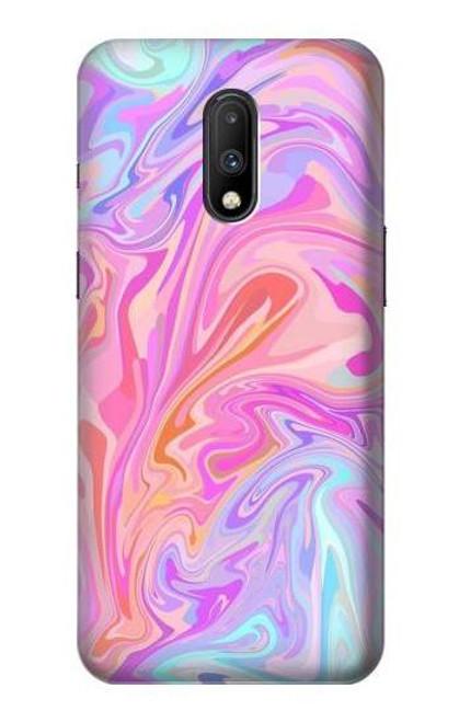 S3444 Digital Art Colorful Liquid Case For OnePlus 7