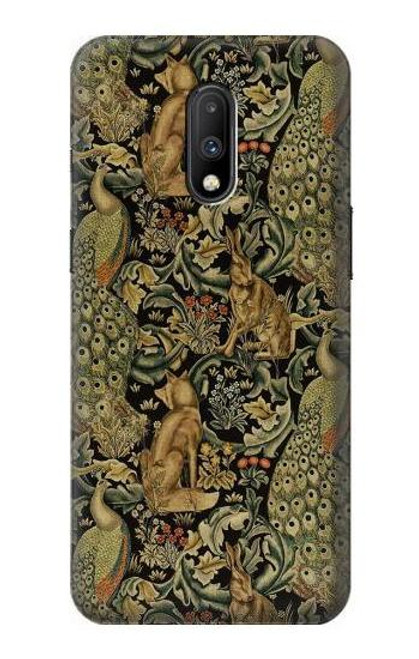 S3661 William Morris Forest Velvet Case For OnePlus 7