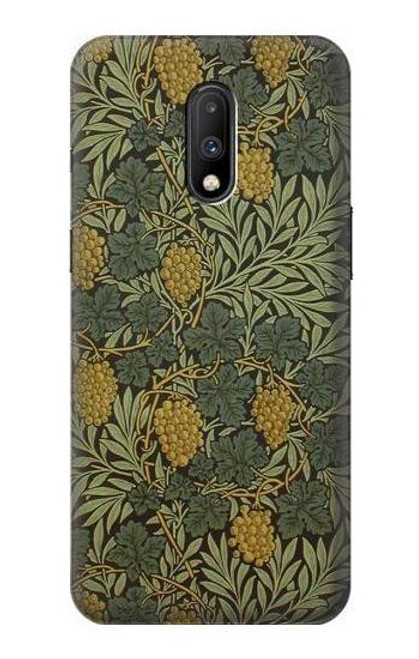 S3662 William Morris Vine Pattern Case For OnePlus 7
