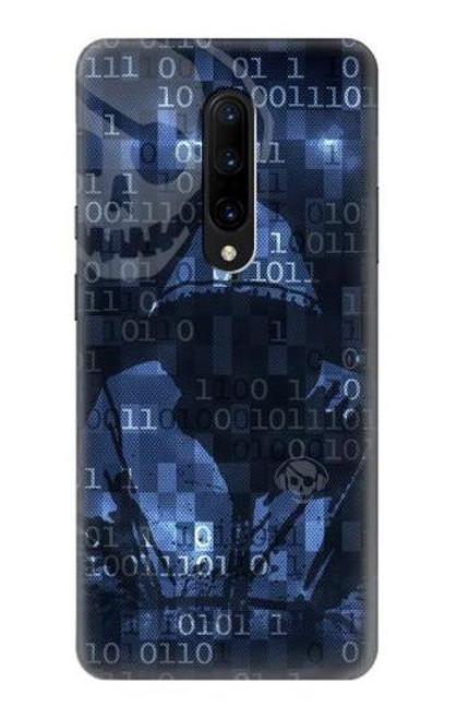 S3431 Digital Code Cyber Hacker Case For OnePlus 7 Pro