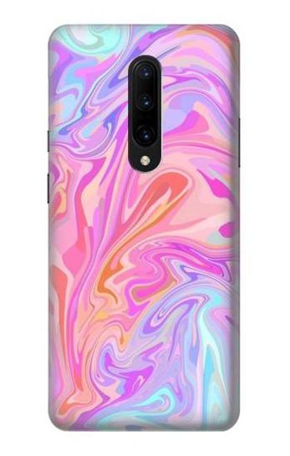 S3444 Digital Art Colorful Liquid Case For OnePlus 7 Pro