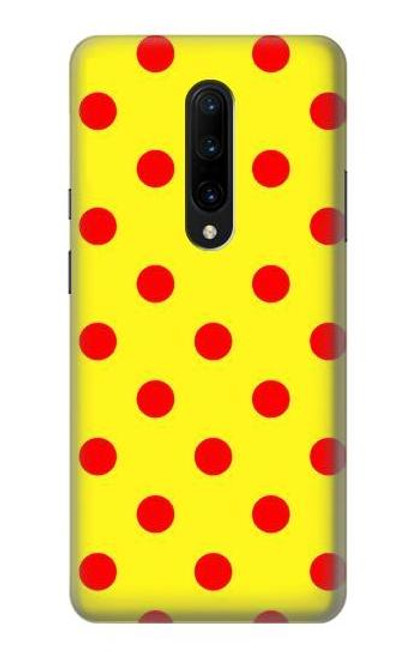 S3526 Red Spot Polka Dot Case For OnePlus 7 Pro