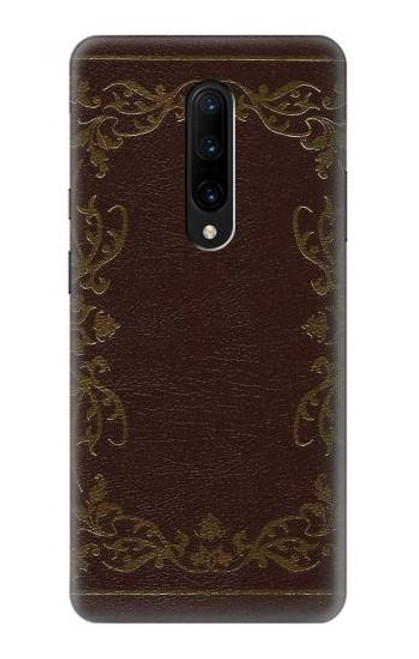 S3553 Vintage Book Cover Case For OnePlus 7 Pro