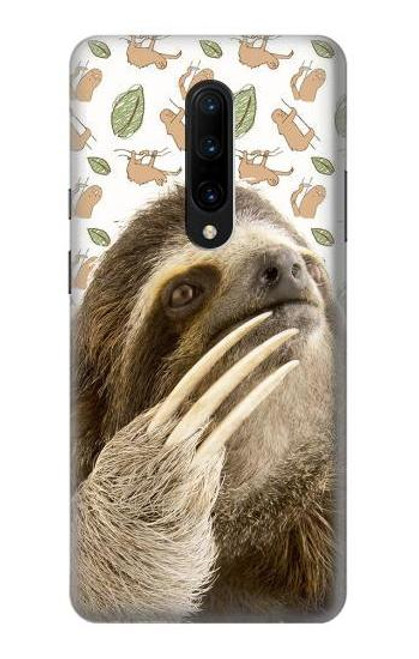 S3559 Sloth Pattern Case For OnePlus 7 Pro