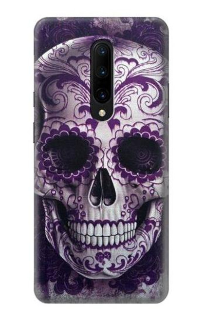 S3582 Purple Sugar Skull Case For OnePlus 7 Pro