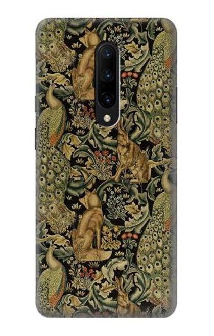 S3661 William Morris Forest Velvet Case For OnePlus 7 Pro