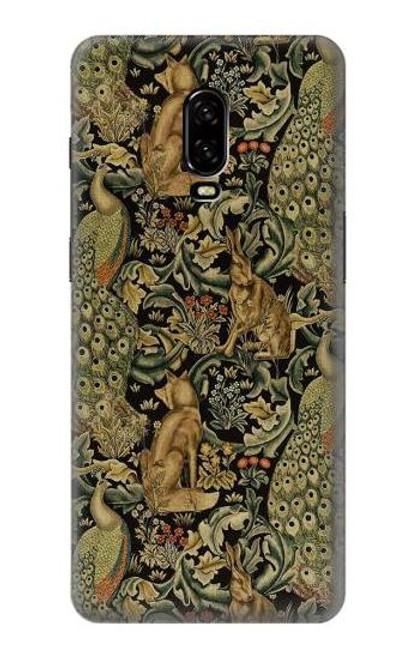 S3661 William Morris Forest Velvet Case For OnePlus 6T