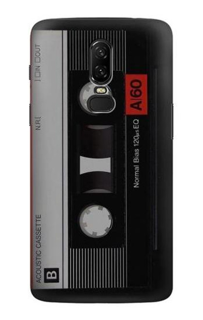 S3516 Vintage Cassette Tape Case For OnePlus 6