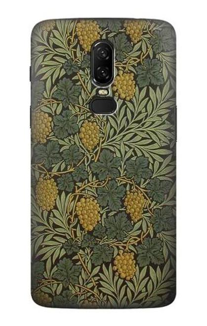 S3662 William Morris Vine Pattern Case For OnePlus 6