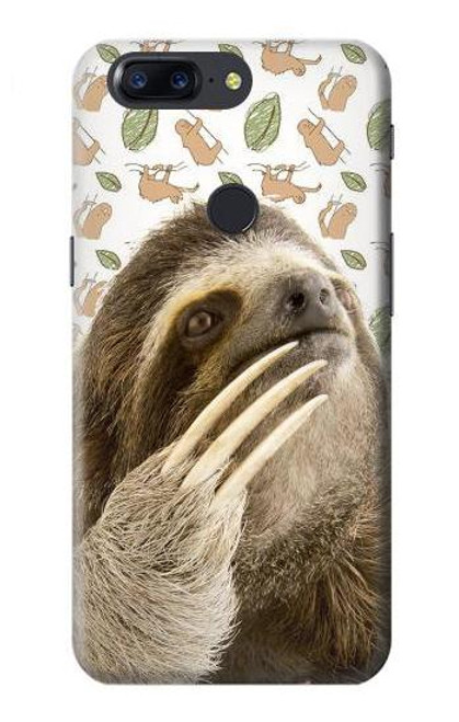 S3559 Sloth Pattern Case For OnePlus 5T